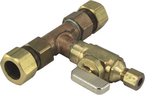Ice Maker Supply Line Valve