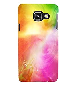 MODERN ART SMOKY PATTERN OF MIST 3D Hard Polycarbonate Designer Back Case Cover for Samsung Galaxy A3 (2016) :: Samsung Galaxy A3 A310F (2016) A310M A310FD A310Y