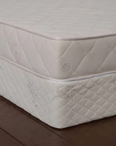 Bio Sleep Concept All Natural Latex Mattress With Organic Cotton And Wool Quilted Cover, 7-Inch front-696189