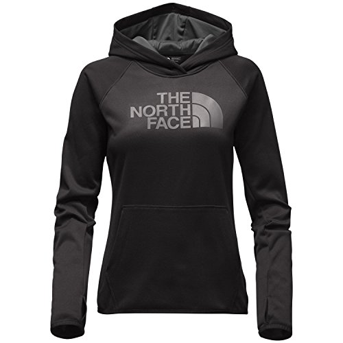 the-north-face-womens-fave-half-dome-pullover-hoodie-tnf-black-asphalt-grey-small