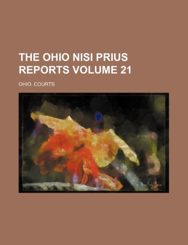 The Ohio nisi prius reports Volume 21