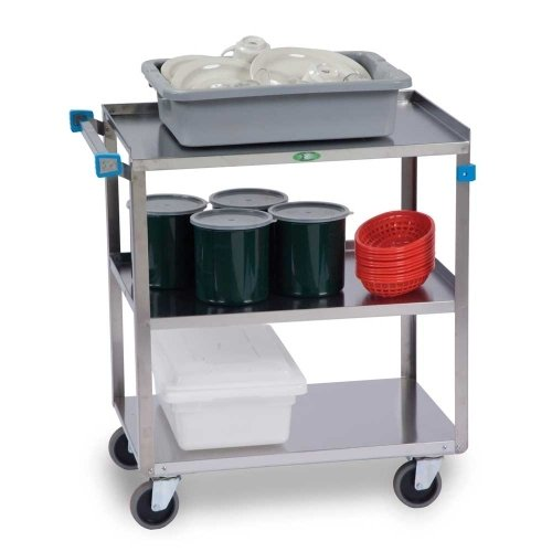 """Lakeside Lakeside 27""""x18"""" Stainless Steel Utility Cart"""
