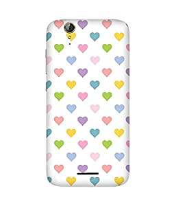 Heart Multi Back Cover Case for Acer Liquid Z630S