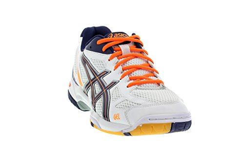 asics-gel-flare-5-men-herren-hallenschuhe-white-medieval-orange-b40pq-0152-schuhgrosse44