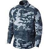 Nike running element mens half 1/2 zip long sleeve running top shirt 547795 454 LARGE dri-fit stay cool