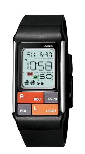 Casio Women's Pop Tone Black Digital Watch #LDF50-1CF
