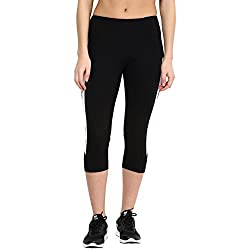 Ajile by Pantaloons Women Regular Fit Capri (205000005542783, Black, X-Large)