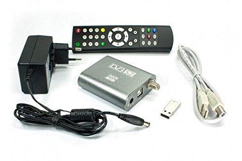 DVBSky S960 USB Box mit 1x DVB-S2 Tuner, partitioned USB stick with windows software and bootable linux media center