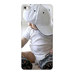 Stylish Hip Hop Cute Boy Back Case Cover for Micromax Canvas Silver 5
