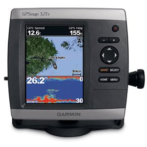 Garmin GPSMAP 521S GPS Chartplotter/Fishfinder w/o Transducer