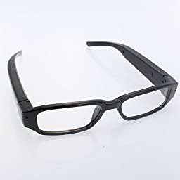 HD 720P DVR Digital Camera Eyewear Camcorder Clear Lens Glasses Audio & Video Recorder
