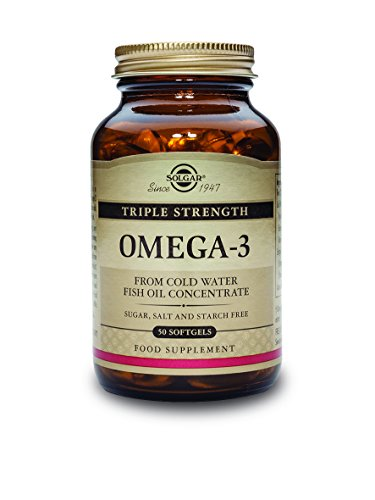 Solgar Triple Strength Omega-3 Supplement, 950 mg, 50 Count (Omega 3 950 Mg Solgar compare prices)