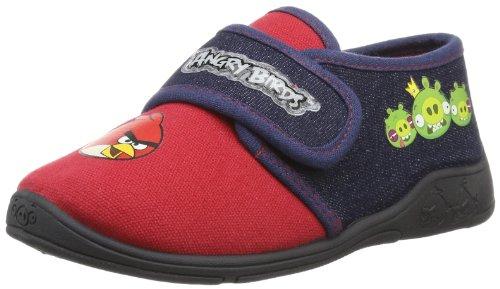 Velcro chaussons pantoufles garçon Angry Birds