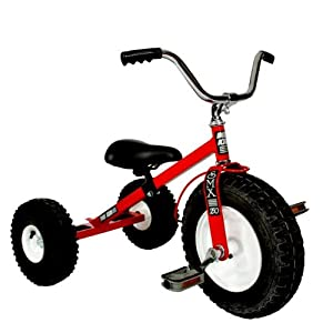 Tricycle - Unassembled (Red) by Dirt King