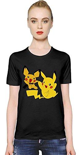 Pichu-Pikachu-Joy-Time-La-camiseta-de-las-mujeres