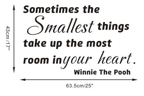 Winnie The Pooh Wall Quotes front-643328