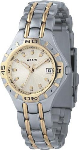 Relic Fossil Champagne Stainless Bracelet