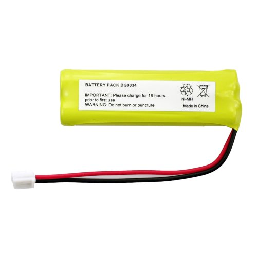 Fenzer Rechargeable Cordless Phone Battery for Vtech LS-6125-3 LS-6125-4 Cordless Telephone Battery Replacement Pack