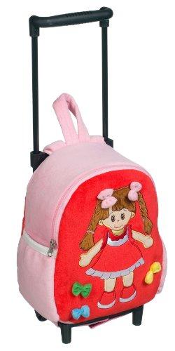 Imagen principal de Heunec 571174 Poupetta Lucy - Mochila con ruedas en color rojo/rosa
