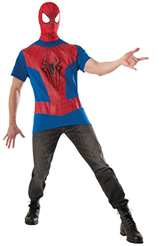 Rubie's Costume Men's Marvel Universe The Amazing Spiderman 2 Top and Mask