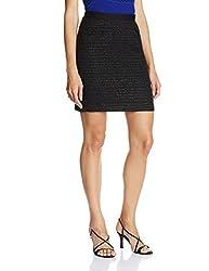 UCB Women's A-Line Skirt (15P4D8PS03F3_700-Black_40)