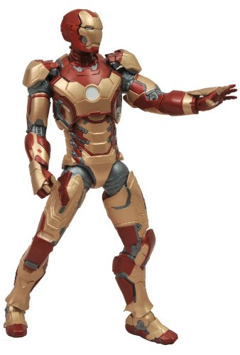 Diamond Select Toys Marvel Select Iron Man 3 Movie: Iron Man Mark 42 Action Figure