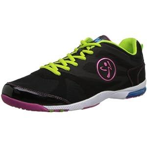 Zumba Women's Impact Max Sneaker,Black,9 M US