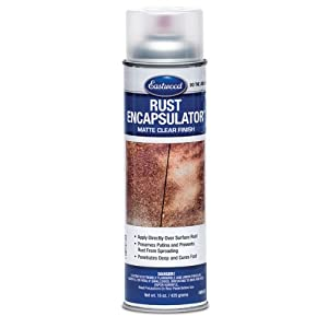 Eastwood Rust Encapsulator Paint Clear Matte 15 ounce Aerosol from Eastwood