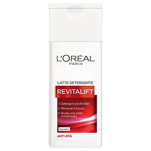 L'Oréal Paris Revitalift Latte Detergente Anti-Età, 200 ml