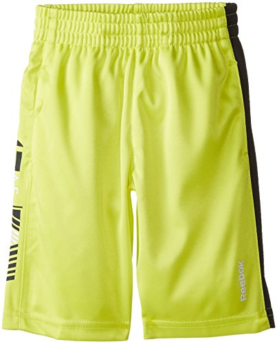 Reebok Little Boys' Graphic Short, Semi Solar Yellow, 6