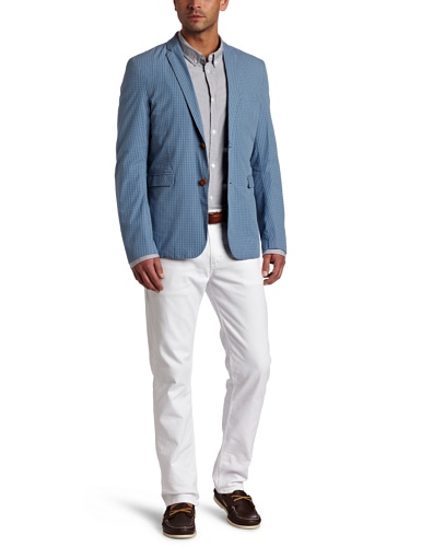 Ben Sherman Men's Plectrum Gingham Blazer