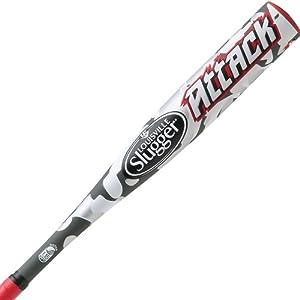 Louisville Slugger 2014 Attack Alloy Tee Ball Bats (-13.5) by Louisville Slugger