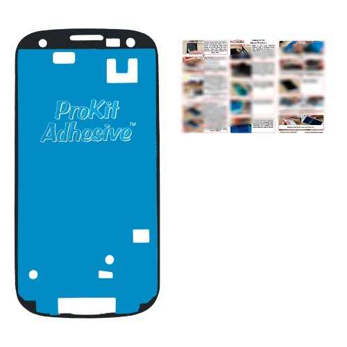 Prokit Pre-Cut Adhesive For Touch Screen Digitizer Glass At&T I747 Verizon I535 Tmobile T999 Sprint L710 Touch Screen Digitizer Adhesive By Iparts