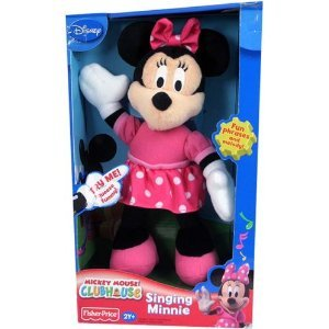 Fisher Price Minnie Mouse Singing Minnie Plush