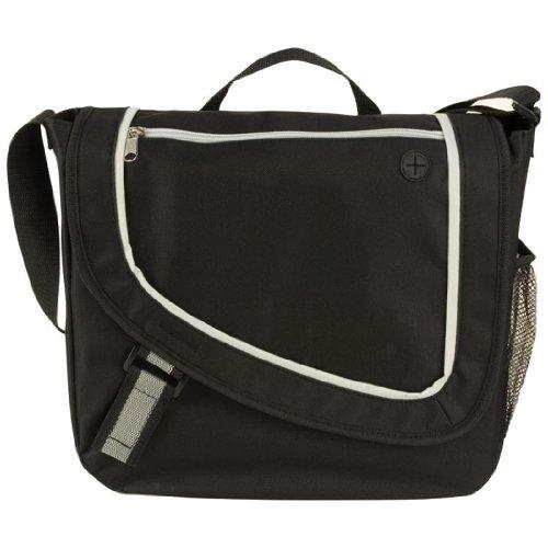 Frequency Messenger Bag, Black