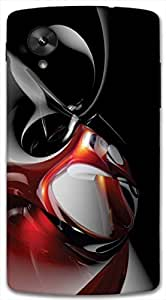 Timpax protective Armor Hard Bumper Back Case Cover. Multicolor printed on 3 Dimensional case with latest & finest graphic design art. Compatible with only Google Nexus-5. Design No :TDZ-20163