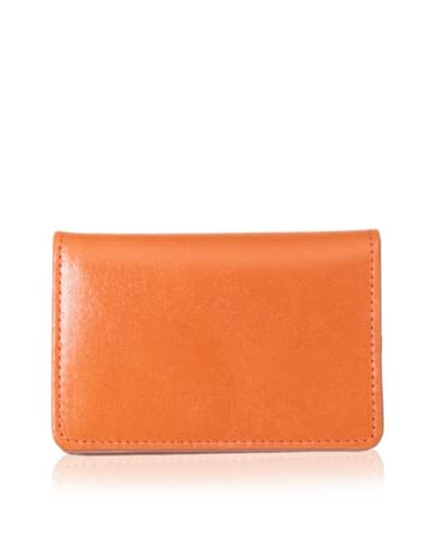 Tusk Women's Gusseted Business Card Case, Orange