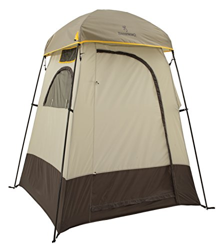 Canvas Sleeping Cabana : Browning camping privacy shelter discount tents sale