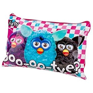 FURBY LARGE CUTE DOO-OO-TYE PENCIL CASE APPROX 24CM X 15CM