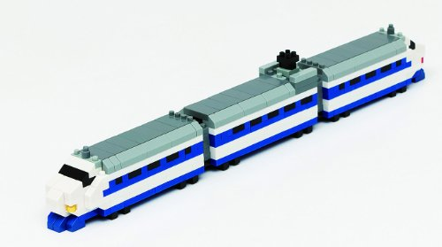 Nanoblock Nanogauge Ngt_001 Train Collection Shinkansen Series 0 Authentic