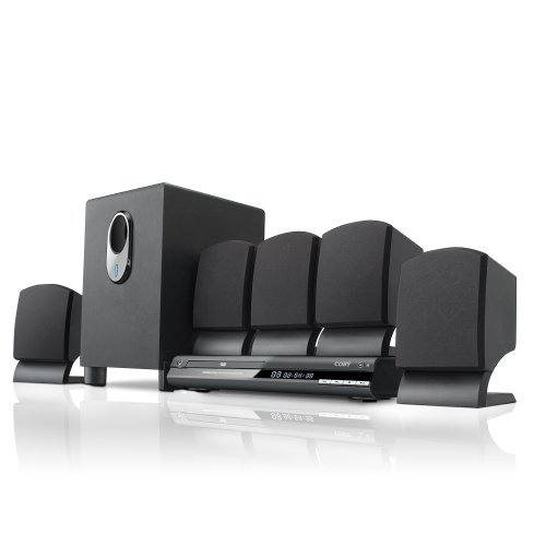 Coby DVD765 5.1-Channel DVD Home Theater System (Black)