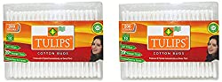 Tulips Cotton Buds 200s Pack of 2