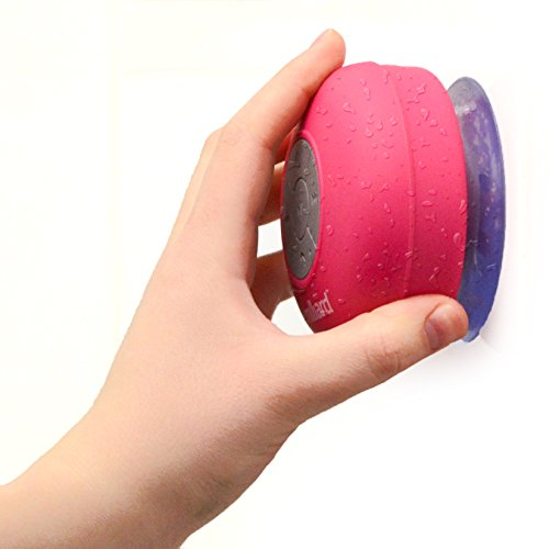 Milliard Bluetooth Shower Speaker for Music and Speaker Phone at the Pool, Spa or Boating; Portable, Water Resistant, Wireless and Hands Free