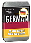 German Magnetic Poetry Kit