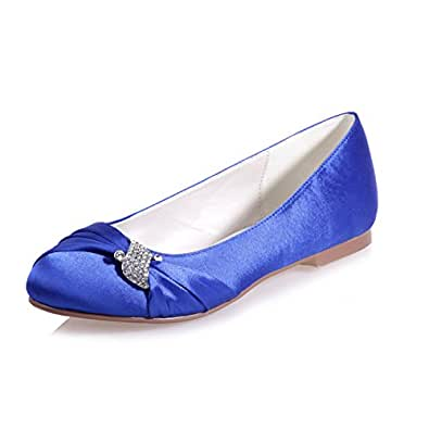 Amazon Clearbridal ZXF9872 22 Womens Summer Bride Flat Heel Cheap Wedding Bridal Shoes Shoes