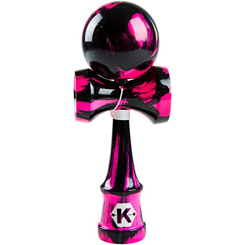 Kendama Toy - Extra String- Tribute Samurai Sweet Pink and Black Pro Model | Great for Boys and Girls (Kendama Extra Ball compare prices)