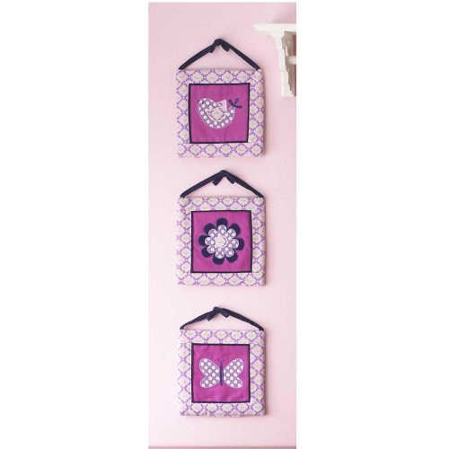 Flutter Wall Hangings - Set of 3 - 1