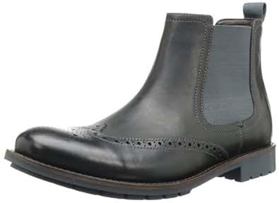 Clarks Men's Garnet Hi Boot,Black Leather,7.5 M US