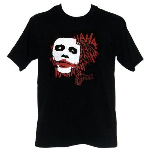 Batman The Dark Knight Joker What's So Funny Mens T-Shirt, X-Large