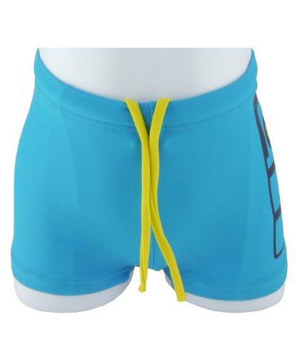 Name It Zhark Mini Boys Swim Shorts - Hawaiian Ocean - 12-24 Months / 86-92 Cm